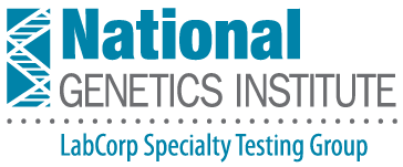 National Genetics Institute TEAL GRAY